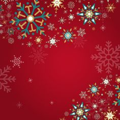 Red holiday design background vector Fre... | Free Vector #Freepik #freevector #freebackground #freechristmas #freechristmas-card #freechristmas-background Winter Wallpaper, Winter Christmas, Frozen Christmas, Christmas Paintings, Christmas Background, Winter Holidays, Free Images, Snowflakes, Vector Free