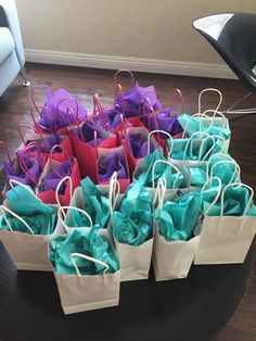 Shimmer and shine boy and girl goodie bags