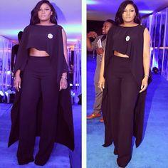 whats happened to Omotola Jalade's stomach? #nillywood  #naija #nigeria