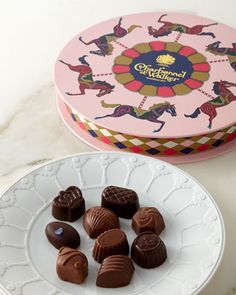 Carousel+Dark+&+Milk+Chocolate+Assortments+by+Charbonnel+ET+Walker+at+Neiman+Marcus.