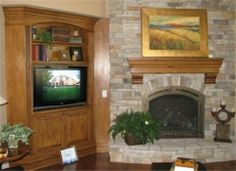 All woodworking, built-ins, mantle, etc.