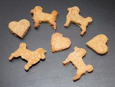 Selbstgemachte Hundekekse mit Thunfisch - Leckerlis....