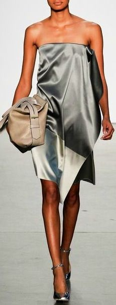 Reed Krakoff - fabulous strapless dress when looking chic is a must