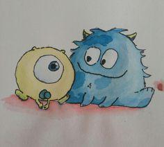 Aquarel - Monsters & Co