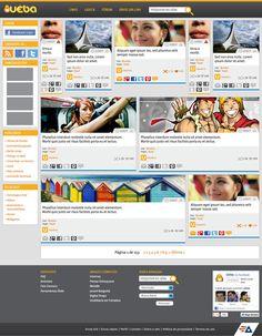 "Novo layout do Blog ""Uêba"""