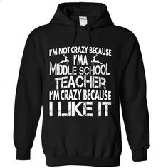 Middle School Teacher Perfect X gifts - #white shirt #rock tee. SIMILAR ITEMS => https://www.sunfrog.com//Middle-School-Teacher-Perfect-X-gifts-4987-Black-Hoodie.html?68278