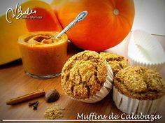 Muffins de Calabaza y Salvados: Recetas dieta Dukan (Crucero)
