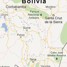 Travel Map - Visit Bolivia.
