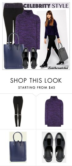 """Leathersatchel"" by leathersatchel ❤ liked on Polyvore featuring Topshop, Miu Miu and ASOS"