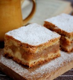 Sweet Recipes, New Recipes, Cooking Recipes, Favorite Recipes, Polish Desserts, Polish Recipes, Blondie Bar, Russian Recipes, Pumpkin Cheesecake