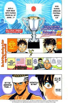 Eyeshield 21 Chapter 306 - Read Eyeshield 21 Chapter 306 manga for free at ZingBox.me