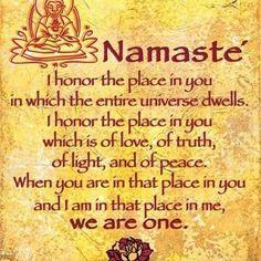 Namaste x
