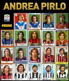 Los 19 años que paso Pirlo en la Serie A