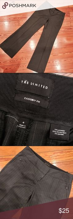 """New The Limited Cassidy Fit Pant Gorgeous pin stripes design Cassidy Fit pants from The Limited. Size 4 with a 32"""" inseam. Don't like the price, Make me an offer 💸 you don't know if you don't ask... I do bundle offers 🎉 Fast same or next day shipping 📦💨 The Limited Pants Trousers"""