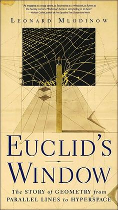 """""""Through Euclid's Window Leonard Mlodinow brilliantly and delightfully leads us on a journey through five revolutions in geometry, from the Greek concept of parallel lines to the latest notions of hyperspace. Here is an altogether new, refreshing, alternative history of math revealing how simple questions anyone might ask about space -- in the living room or in some other galaxy -- have been the hidden engine of the highest achievements in science and technology."""""""