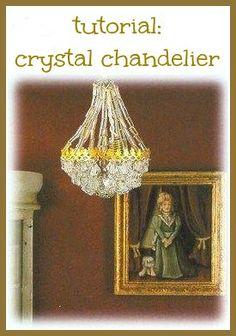 how to: mini chandelier