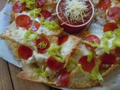 Old Chicago Italian Nachos - just in case they take these away (or change them up to my disliking!)