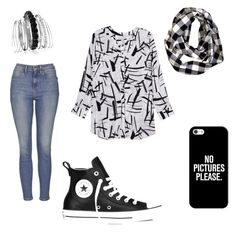 Untitled #1 by dreamlooks on Polyvore featuring polyvore, interior, interiors, interior design, home, home decor, interior decorating, Melissa McCarthy Seven7, Topshop, Converse, Avenue and Casetify