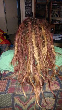 Dreadlocks, 18 months, twist and rip method