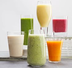 I'm on a big smoothie kick lately. Every morning, I've been blending up different variations of frozen fruit and skim milk or yogurt with a handful of walnuts. It's a satisfying breakfast on busy mornings that also happens to be nutritious. You can supercharge your smoothie even more with these six health-packed