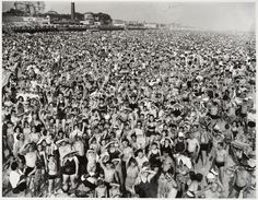 New York City, c.1940,  Coney Island.  Holy sh$t. Crazy to think I walk around there every year, where all these ppl who have already lived & died were.