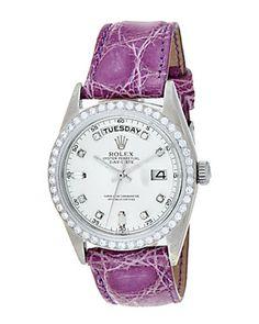 Rolex 1971 Women's President Diamond Watch