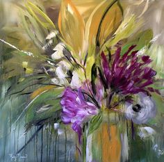 """Artist: Kathy Morawiec Dimensions: 30""""x30""""x2"""" Original Medium: Acrylic (hand varnished to protect it for generations) Surface: Deep edged, gallery wrapped canvas Email us for more information at chris"""