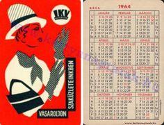 1964 - 1964_0079 - Régi magyar kártyanaptárak