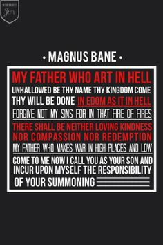 SPOILERS!!!!!!!!!!!!!!!!!Magnus Bane calling his father in City of Heavenly Fire