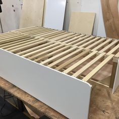 How to build a pull out sofa bed for camper van or van conversion