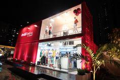 Coca-Cola Clothing by Container, inaugurada semana passada, na Torre, é a quinta loja do grupo aberta em Pernambuco. Crédito: Edson Pelence/Divulgação
