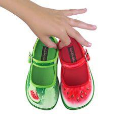 Watermelon Mary Jane's - via DTLL.