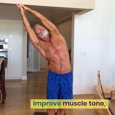 Over Stay Bendy! Mobility maneuvers help keep joints supple so that you move better, have better posture, and reduce injury risk. This workout will help. Yoga Fitness, Forme Fitness, Sport Fitness, Physical Fitness, Fitness Tips, Fitness Motivation, Workout Fitness, Gym Workout Chart, Gym Workout Videos