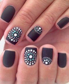 Pretty Colorful Summer Nail Designs