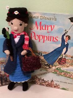 Mary Poppins, practically perfect in every way - CROCHET  - Knitting, sewing, crochet, tutorials, children crafts, jewlery, needlework, swaps, papercrafts, cooking and so much more on Craftster.org