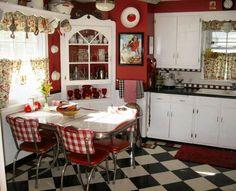 A sua cozinha pode ganhar uma decoração retrô ou vintage. (Foto: Divulgação)