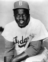 Jackie Robinson - Broke baseball's color barrier.  At UCLA he became the school's first athlete to win varsity letters in four sports - baseball, basketball, football and track.