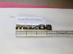Mazda-trunk emblem logo badge symbol nameplate oem15A  #mazdaoem