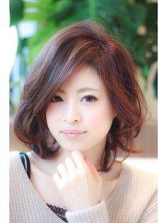 【ミューズ栄】大人ゆるカールボブ - 24時間いつでもWEB予約OK!ヘアスタイル10万点以上掲載!お気に入りの髪型、人気のヘアスタイルを探すならKirei Style[キレイスタイル]で。