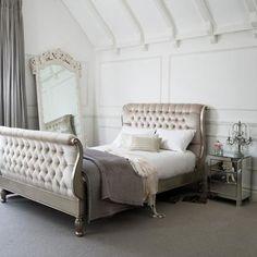 Metallic Princess bed.