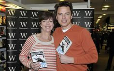 Torchwood star John Barrowman: I fought with my sister when we were kids.. but now we've teamed up to write a book