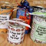 Tin Can Treats...this is the Father's Day edition, but you can make these cans and fill them with treats for any holiday or occasion... BTS, Christmas, etc....