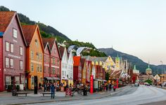 Bryggen i Bergen by terjthor Bergen, Street View, Explore, Architecture, City, Arquitetura, Architecture Illustrations, Cities, Exploring