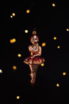 Glass Christmas tree ornament in a shape of Ballerina ✨ Glass Christmas Tree Ornaments, Ballerina, Shapes, Superhero, Fictional Characters, Art, Art Background, Ballet Flat, Kunst
