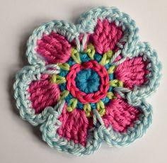 Spring Flower Tutorial in Dutch and English from Ellebel Handmade