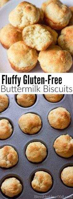 These easy 9-minute fluffy gluten-free buttermilk biscuits are what you have been waiting for! They are fluffy and moist, soft and buttery sweet, and only 5 ingredients if you already have our DIY Bisquick Mix!