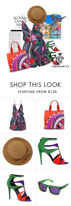 """Use the whole box of crayons"" by grownuppaperdolls ❤ liked on Polyvore featuring Emilio Pucci, Pierre Hardy and Spy Optic"