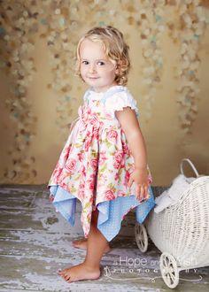 fairytale hankerchief dress. so cute!