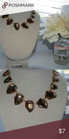 Amber stone statement necklace Amber stone statement necklace Jewelry Necklaces
