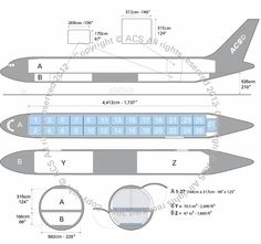 Boeing B777-200F freighter diagram (ACS http://www.aircharterservice.com/)